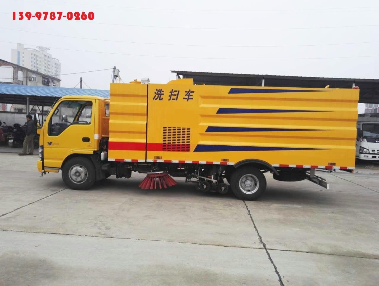 上海市政洗扫车价钱