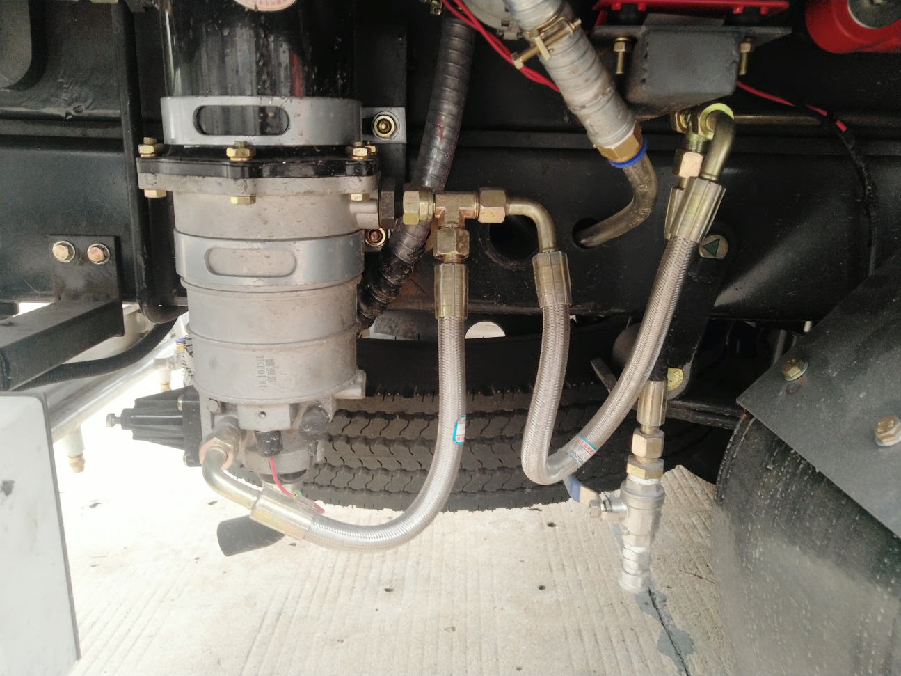 吸尘车反吹功能