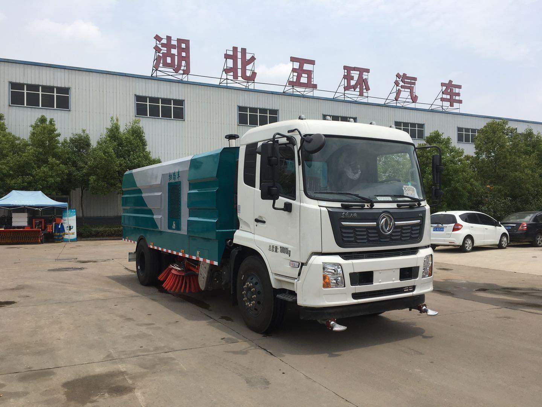 国六东风天锦11方扫路车