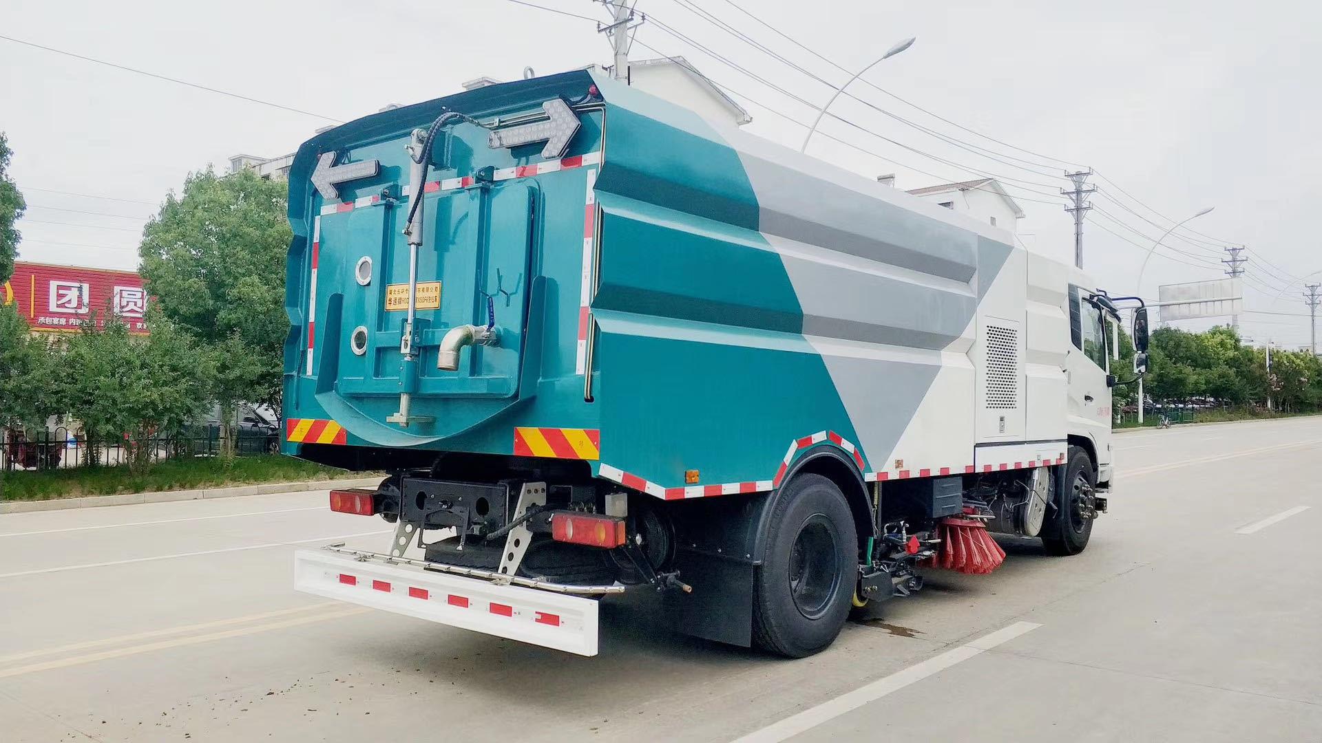 18吨洗扫车