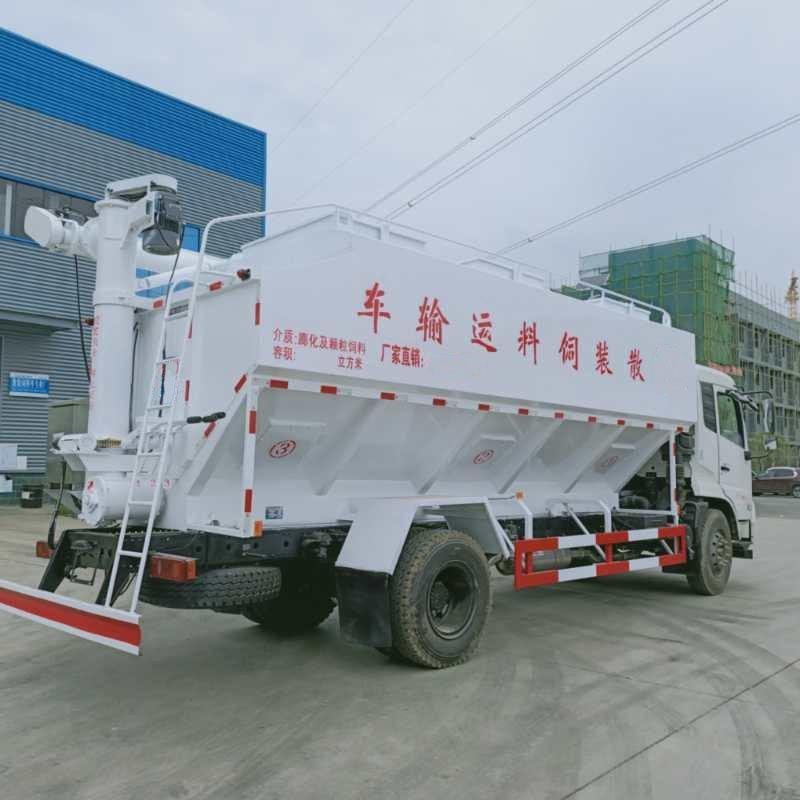 东风天锦30方饲料车