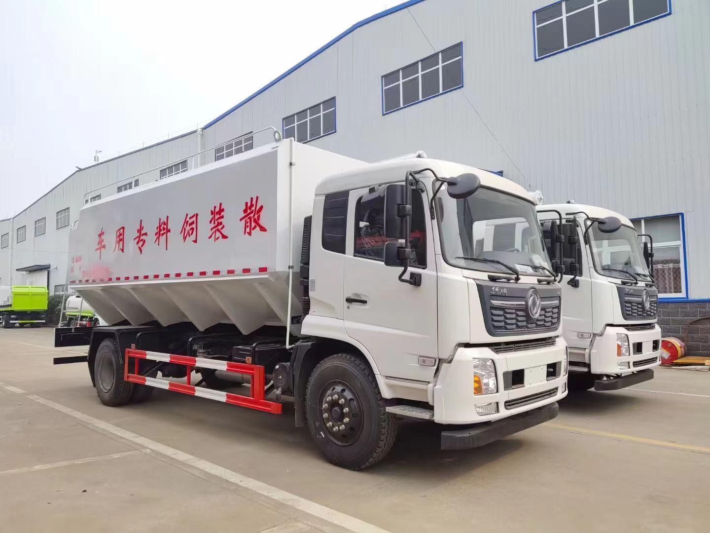 东风天锦20吨饲料车